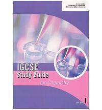Good, Cambridge IGCSE Study Guide for Chemistry (IGCSE Study Guides), Berry, Bob