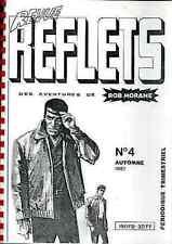 revue REFLETS 4 1987 BOB MORANE Henri VERNES fanzine EXLIBRIS Gratuit magazine