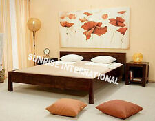 Panel Design Wooden King Size Double Bed  !