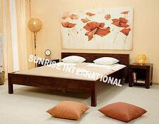Panel Design Wooden Queen Size Bed  !