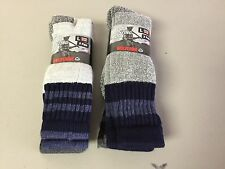 NWT Men's Wolverine Premium Merino Wool Hunting Socks 4 Pair Large Multi #212P