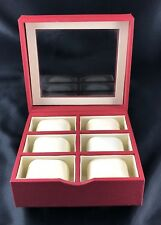 Vintage 6 Watch Box/Display Case
