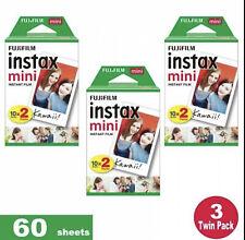 60 Fujifilm Instax Mini Instant Film polaroid Prints Fuji Mini 7-8-9-11 Cameras