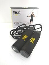 EVERLAST WEIGHTED SKIPPING ROPE in Box VGC - DIS