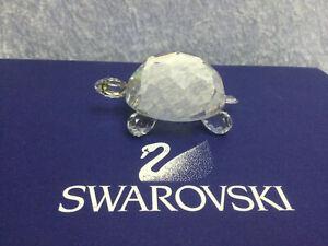 Swarovski Crystal King Turtle (US & Canada only) 7632075000. Retired 1988.
