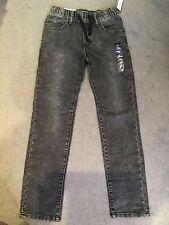 GAP-Grigio Jeans Denim con elastico coulisse in vita-AGE 10-11y BNWT