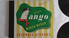 "Marek Weber ""Continental Tangos""  Columbia Set #C-90"