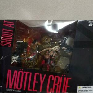 Mcfarlane Toys MOTLEY CRUE  SHOUT AT THE DEVIL DELUXE BOXED EDITION Sealed