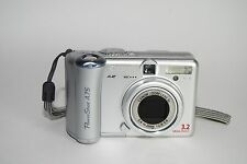 Canon PowerShot A75 3.2 MP Digital Camera - Silver - broken
