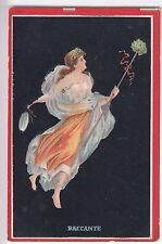 CPA  ART SEXY - PIN-UP FEMME WOMAN  BACCANTE MYTHOLOGIE ROME ITALIE1910 ~B87