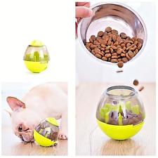 Interactive Dog Cat Food Treat Ball Toy Pet Container Puppy Slow Feed Funny Toys