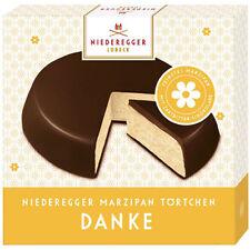 "Niederegger Marzipan ""Marzipan Mini Cake"" - ""thanks"" (2) two packs"