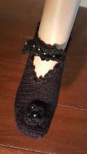 """Women's Slippers Handmade %100  Wool  9"""""""