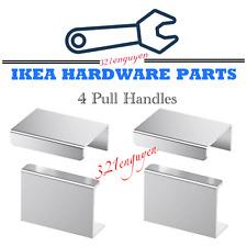 "Four 4 IKEA BLANKETT 2"" Pull Handle, Aluminum Handles for Drawer / Cabinet Door"