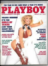 Back Issue February 1985 Playboy Magazine ~ Julie McCullough Cover ~Cheri Witter
