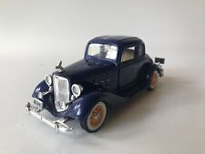 History Of Chevrolet Diecast Model 1/32 Scale 1933 Eagle Five Window Coupe