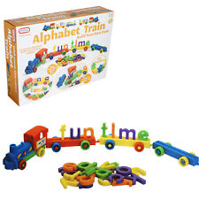 Baby Educational Toys - Push Along Alphabet Train - Age 12 Months +