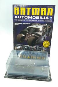 Batman Automobilia BATMAN BEGINS MOVIE TUMBLER DIECAST REPLICA 1:43 Free Ship