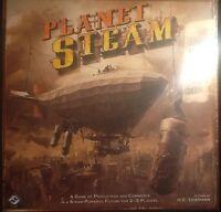 Planet Steam Board Game MINT Sealed Steampunk FFG