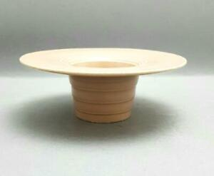 VINTAGE BURLEIGH ART DECO POTTERY BOWL/DISH IN WEDGWOOD KEITH MURRY STYLE