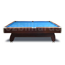 Walnut 7FT Blue Modern Design Pool Snooker Billiard Table Full Accessories AU