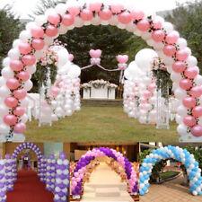 50x DIY Arch Balloon Buckle Wedding Party Christmas Ballon Clips Ring Connectors