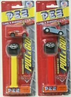 Disney Pixar PEZ Cars Lightning McQueen Finn McMissle Detachable Car Lot x 2 D31