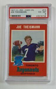 1971 O-Pee-Chee CFL #13 Joe Theismann PSA 6 EX-MT GC5