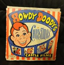 Vintage Howdy Doody Christmas Castle Films 16 MM Complete Edition, Kagran