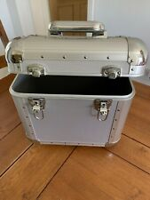 """Record Box/Case For 12"""" Vinyl Metal Second Hand, With Keys To Lock"""