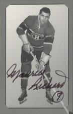 "Parkhurst Pre-Parkie Maurice ""Rocket"" Richard Autographed Card #/500"