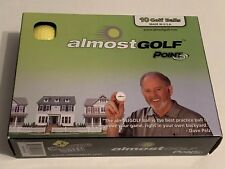 Almost Golf Point 3 - Box of 10 Golf Balls - Yellow                            *