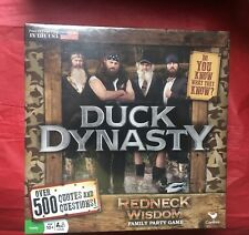 DUCK DYNASTY REDNECK WISDOM FAMILY PARTY GAME • NEW • SEALED!