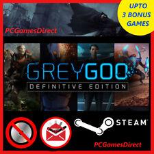 Grey Goo: Definitive Edition (PC 2015) STEAM KEY + BONUS GAMES