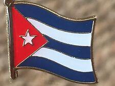 CUBA....Cuban Country Metal Enamel Flag, Lapel Pin Badge....BRAND NEW