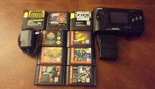 Sega genesis nomad Bundle 9 games+ battery pack free shipping