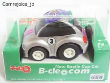 Choro Q TAKARA VOLKSWAGEN NEW BEETLE Cup Car Pink Line F/S