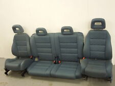 Audi A2 Blue Cloth Seats Front and Rear #2