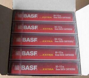 BASF by Emtec - 8D - 112m - 8mm Data Cartridges - 5 Stück im Karton neu