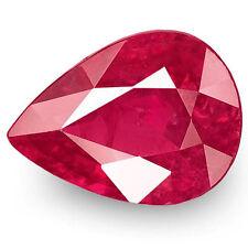 1.31-Carat IGI-Certified Unheated Deep Pinkish Red Ruby from Mokok