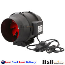 4 6 8  Inline Fan In line Ventilation Tube Duct Stepless Speed Controller