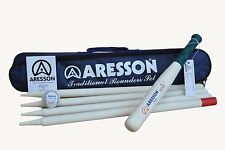 Aresson Traditional Rounders Set - Black/Navy, Adult