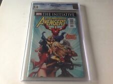 THE MIGHTY AVENGERS 1 CGC 9.8 WHITE PAGES IRON MAN BLACK WIDOW MARVEL COMICS