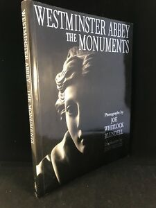 Westminster Abbey - The Monuments Whitlock Blundell - VGC - SIGNED COPY