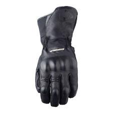 Gants d'hiver imperméables noirs pour motocyclette
