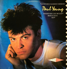 "PAUL YOUNG ‎- Wherever I Lay My Hat (12"") (G+/G-)"