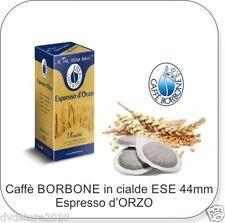 90 Cialde D'ORZO ORZO in Carta Caffè Borbone ESE 44 mm ese44 Filtrocarta