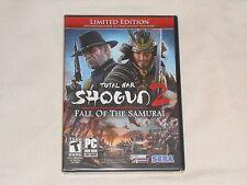 NEW Total War Shogun 2 FALL OF THE SAMURAI Limited Edition PC GAME ii showgun