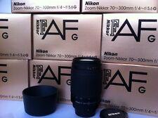 Nikon Nikkor 70-300mm G D1 D2 D3 D700 D300 D200 D800 D600 D80 D90 F90 D4 Fuji S1