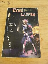 I Drove All Night by Cyndi Lauper (Single) (Cassette, 1989)
